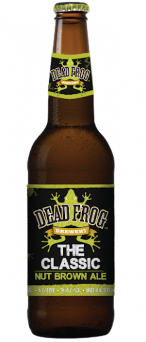 Classic Nut Brown Ale by Dead Frog Brewery in British Columbia, Canada