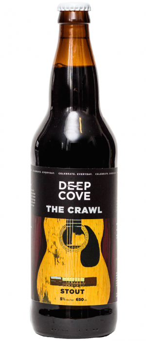 The Crawl by Deep Cove Brewers & Distillers in British Columbia, Canada