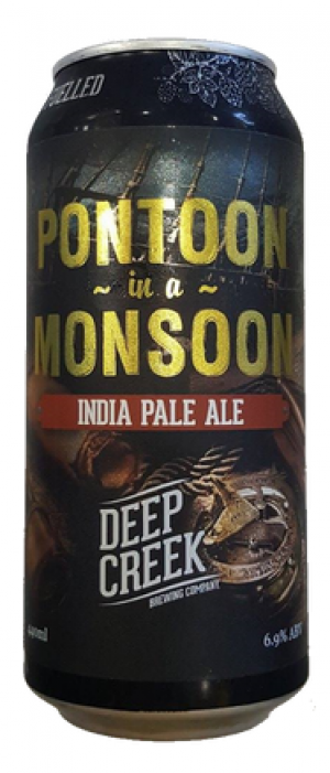 Pontoon In A Monsoon by Deep Creek Brewing Company in Auckland, New Zealand