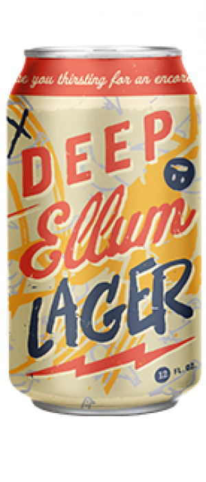 Deep Ellum Lager by Deep Ellum Brewing Company in Texas, United States