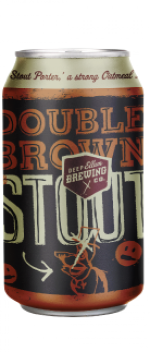 Double Brown Stout by Deep Ellum Brewing Company in Texas, United States