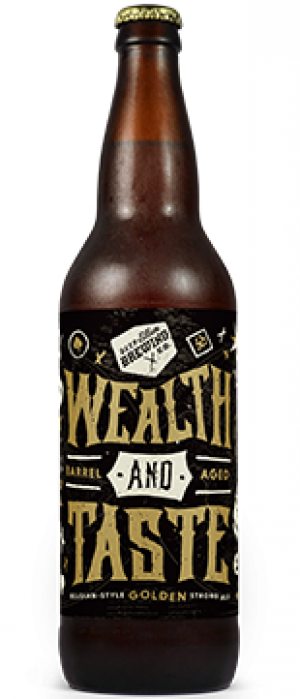 Wealth and Taste by Deep Ellum Brewing Company in Texas, United States