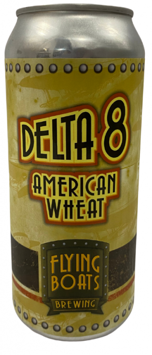 Delta 8 by Flying Boats Brewing in New Brunswick, Canada
