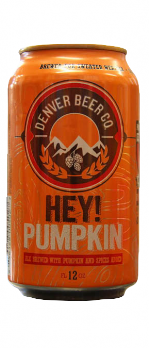 Hey! Pumpkin by Denver Beer Co. in Colorado, United States