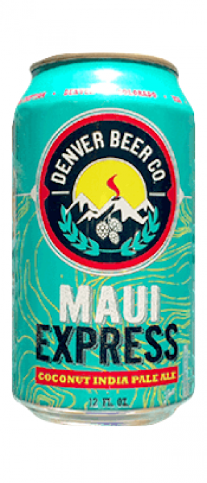 Maui Express by Denver Beer Co. in Colorado, United States