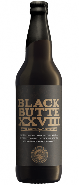 Black Butte XXVIII by Deschutes Brewery in Oregon, United States