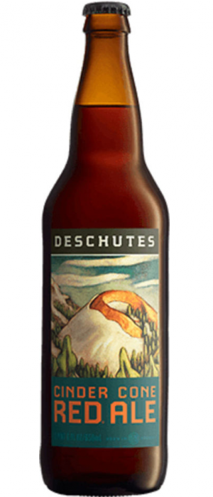 Cinder Cone Red Ale by Deschutes Brewery in Oregon, United States