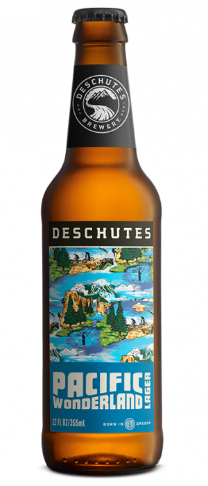 Pacific Wonderland Lager by Deschutes Brewery in Oregon, United States