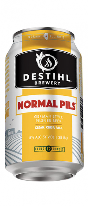 Normal Pils by Destihl Brewery in Illinois, United States