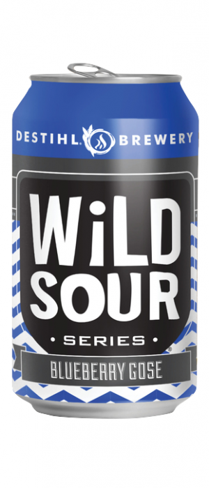 Wild Sour Series: Blueberry Gose by Destihl Brewery in Illinois, United States