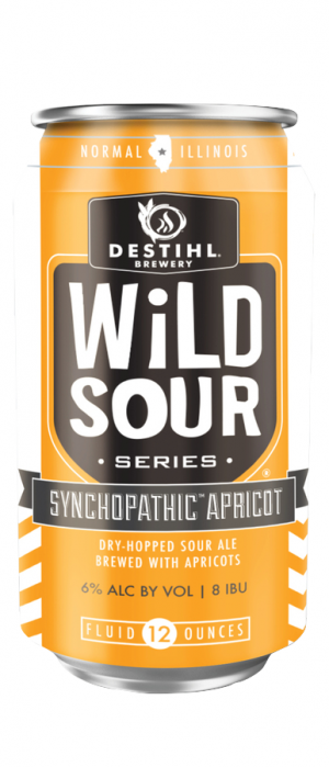 Wild Sour Series: Synchopathic Apricot by Destihl Brewery in Illinois, United States