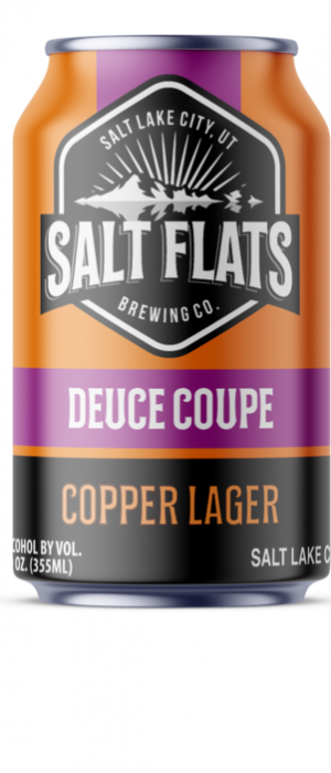 Deuce Coupe Copper Lager by Salt Flats Brewing Co. in Utah, United States