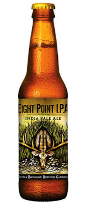 Eight Point IPA by Devils Backbone Brewing Company in Virginia, United States