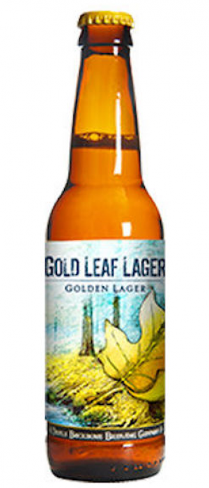 Gold Leaf Lager by Devils Backbone Brewing Company in Virginia, United States