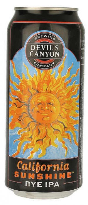 California Sunshine Rye IPA by Devil's Canyon Brewing Company in California, United States