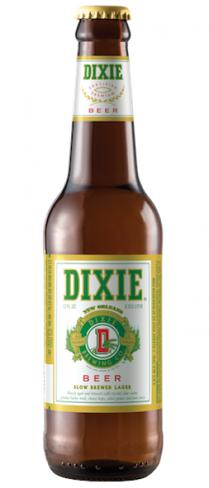 Dixie Beer by Dixie Brewing Company in Louisiana, United States