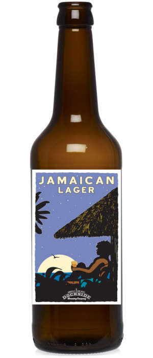 Jamaican Lager by Dockside Brewing Company in British Columbia, Canada