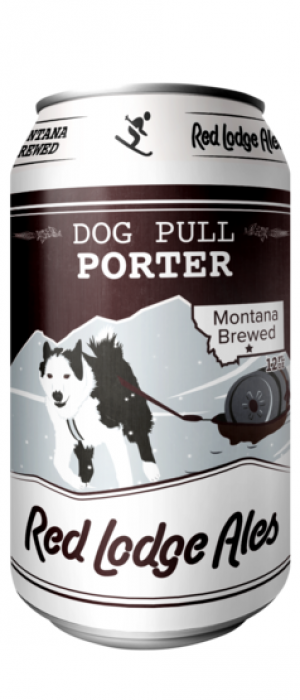 Dog Pull Porter by Red Lodge Ales Brewing Company in Montana, United States