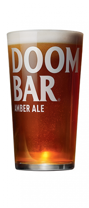 Doom Bar Amber Ale by Sharp's Brewery in Cornwall - England, United Kingdom