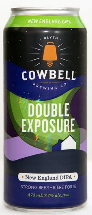 Double Exposure by Cowbell Brewing Company in Ontario, Canada