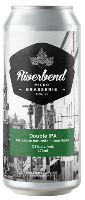 Double IPA by Microbrasserie Riverbend in Québec, Canada