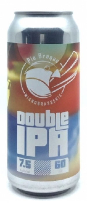 Double IPA by Pie Braque Microbrasserie in Québec, Canada
