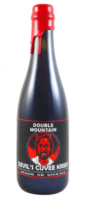 Devil's Cuvee Kriek by Double Mountain Brewery in Oregon, United States