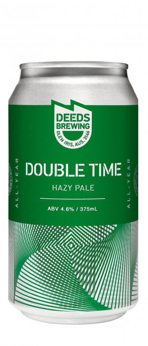 Double Time by Deeds Brewing in Victoria, Australia