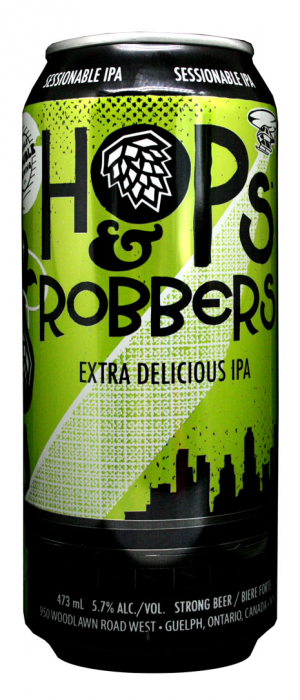 Hops and Robbers Extra Delicious IPA