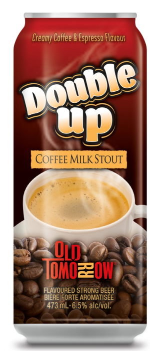 Double Up Coffee Milk Stout by Old Tomorrow in Ontario, Canada
