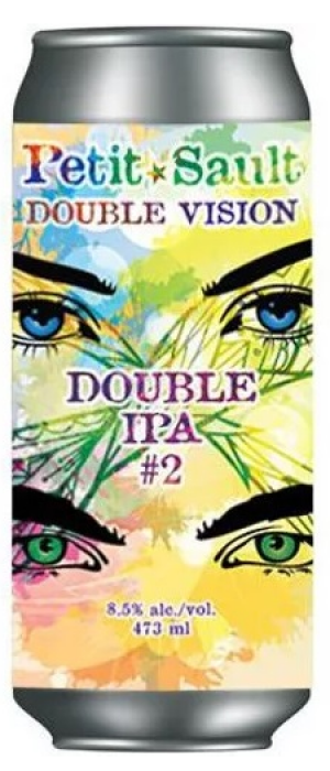 Double Vision Double IPA #2 by Les Brasseurs du Petit-Sault Brewers in New Brunswick, Canada