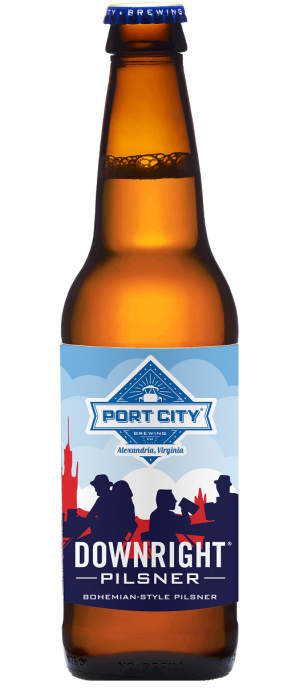 Downright Pilsner by Port City Brewing Company in Virginia, United States