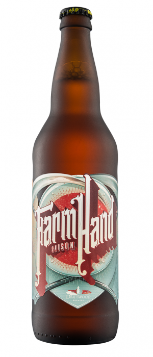 Farmhand Saison by Driftwood Brewery in British Columbia, Canada