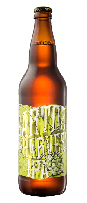 Sartori Harvest Fresh Hop IPA by Driftwood Brewery in British Columbia, Canada