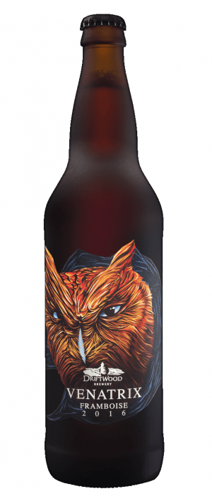 Venatrix Framboise by Driftwood Brewery in British Columbia, Canada