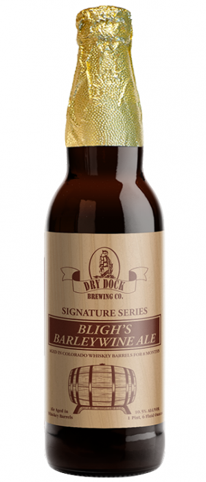Bligh's Barleywine Ale by Dry Dock Brewing Company in Colorado, United States