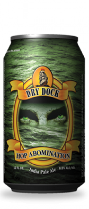 Hop Abomination by Dry Dock Brewing Company in Colorado, United States