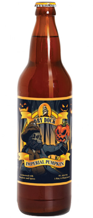 Imperial Pumpkin by Dry Dock Brewing Company in Colorado, United States