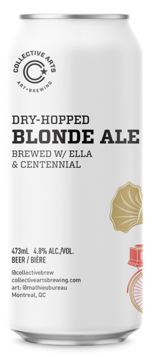 Dry-Hopped Blonde by Collective Arts Brewing in Ontario, Canada