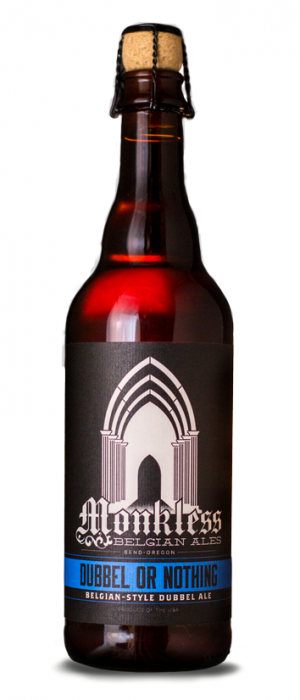 Dubbel or Nothing by Monkless Belgian Ales in Oregon, United States