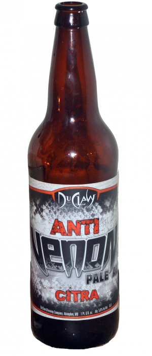Anti-Venom 2 Citra by DuClaw Brewing Company in Maryland, United States