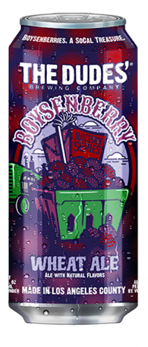 Boysenberry by The Dudes' Brewing Company in California, United States