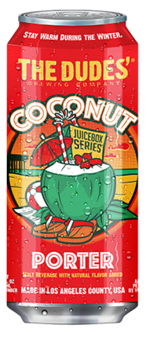 Coconut by The Dudes' Brewing Company in California, United States