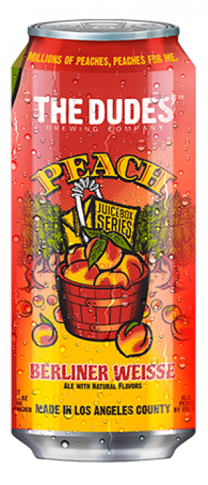 Peach by The Dudes' Brewing Company in California, United States