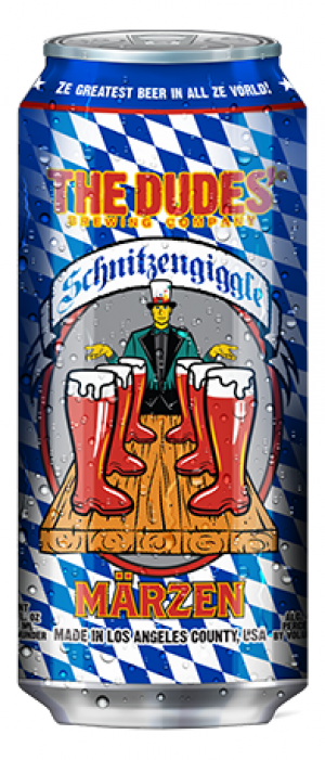 Schitzengiggle by The Dudes' Brewing Company in California, United States
