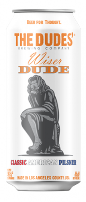 Wiser Dude by The Dudes' Brewing Company in California, United States