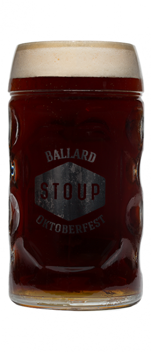 Dunkelweizen by Stoup Brewing in Washington, United States