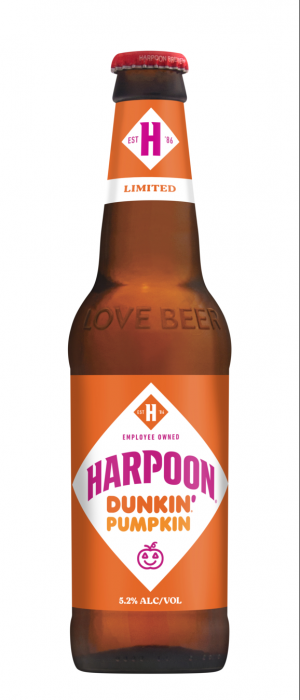 Dunkin' Pumpkin by Harpoon Brewery and Beer Hall in Massachusetts, United States