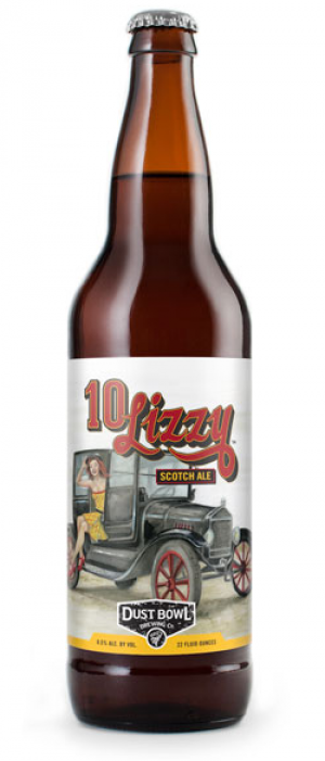 10 Lizzy Scotch Ale by Dust Bowl Brewing in California, United States