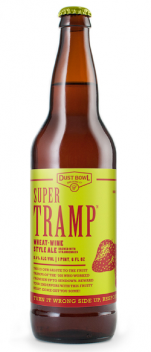 Super Tramp Wheat-Wine Style Ale by Dust Bowl Brewing in California, United States